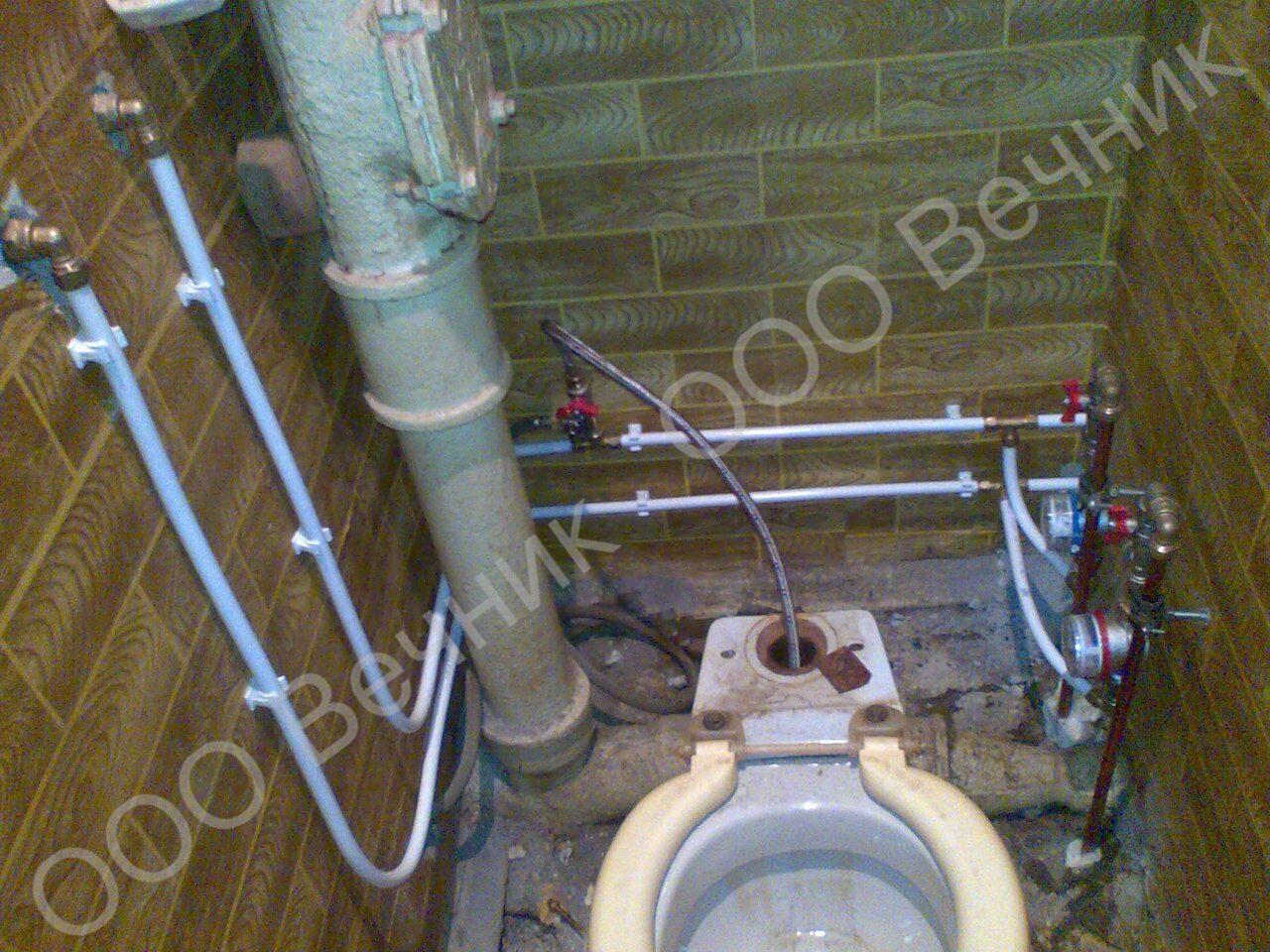 Фото прокладки в туалете 7 фотография